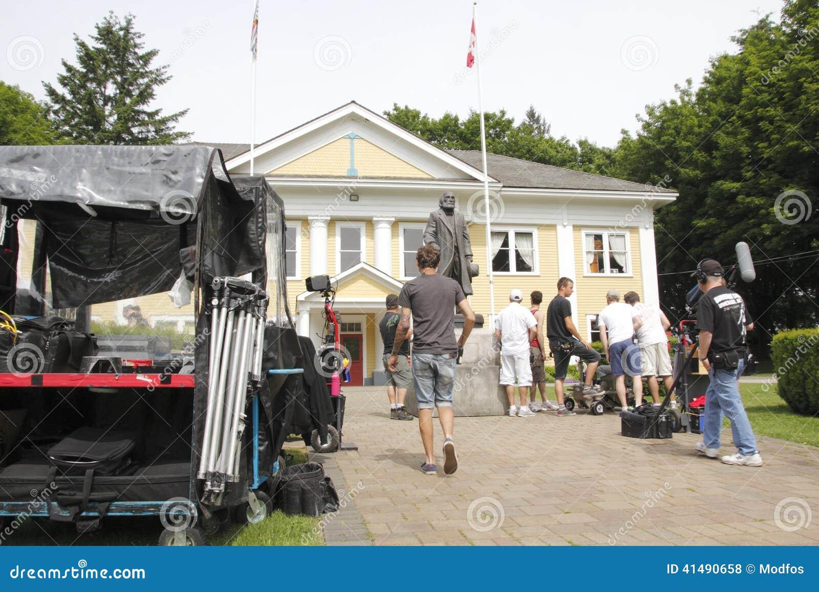 Cedar Cove Film Crew