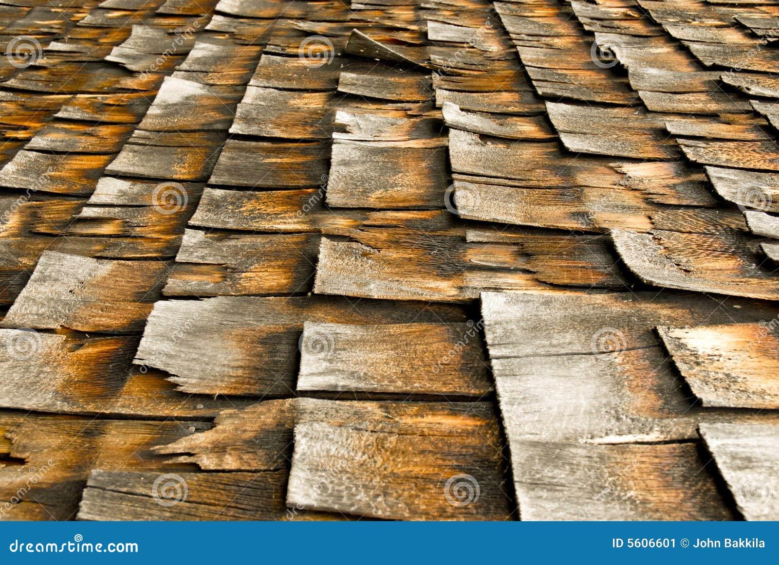 Cedar Shingles Stock Image Image 5606601