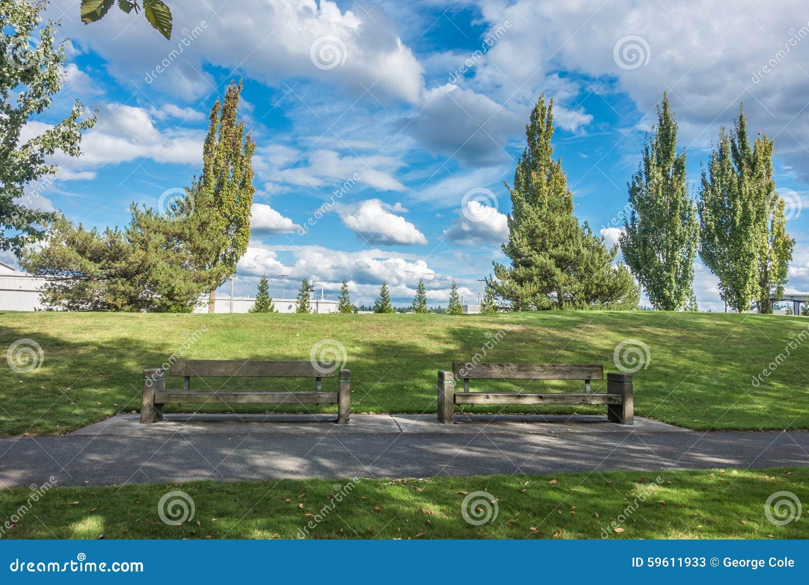 Cedrowy Rzeczny śladu park