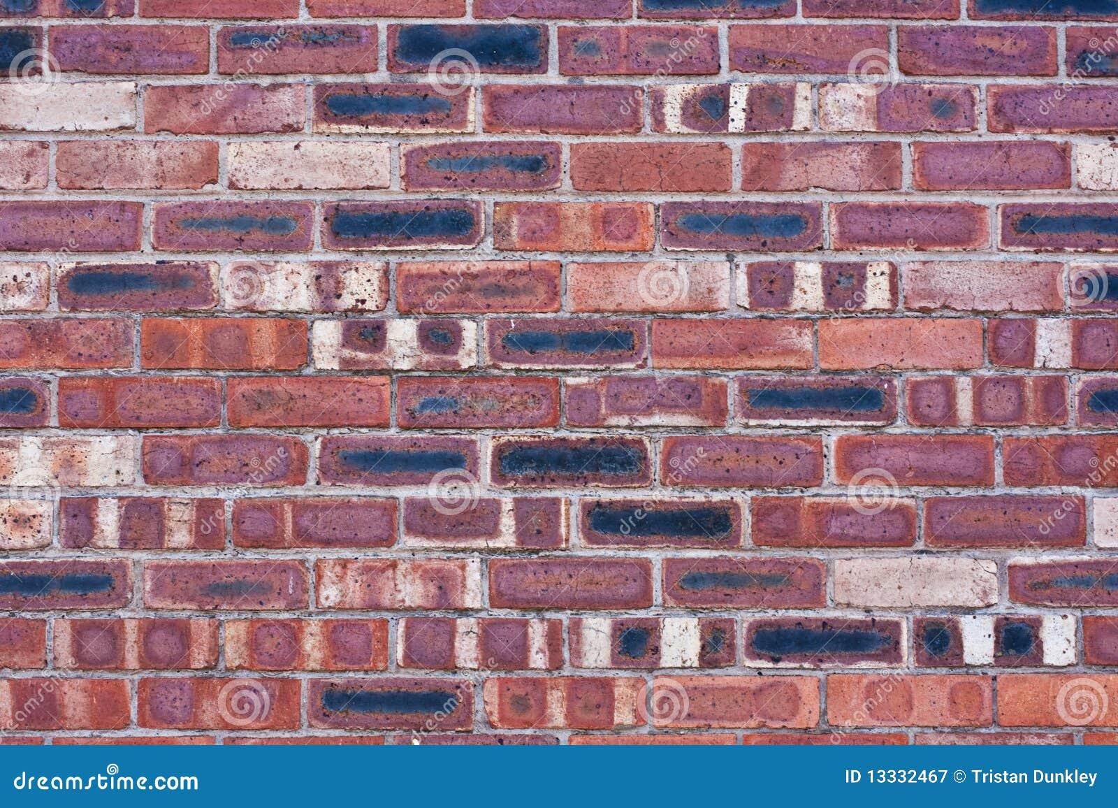 Ceglana przemysłowa ściana