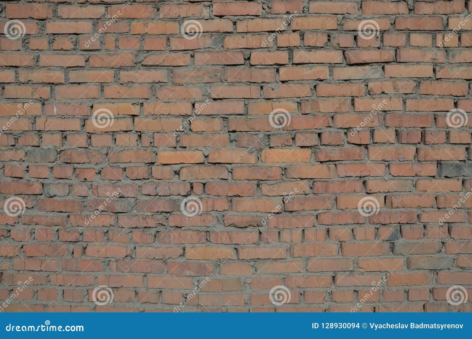 Ceglanego domu tekstury ściana