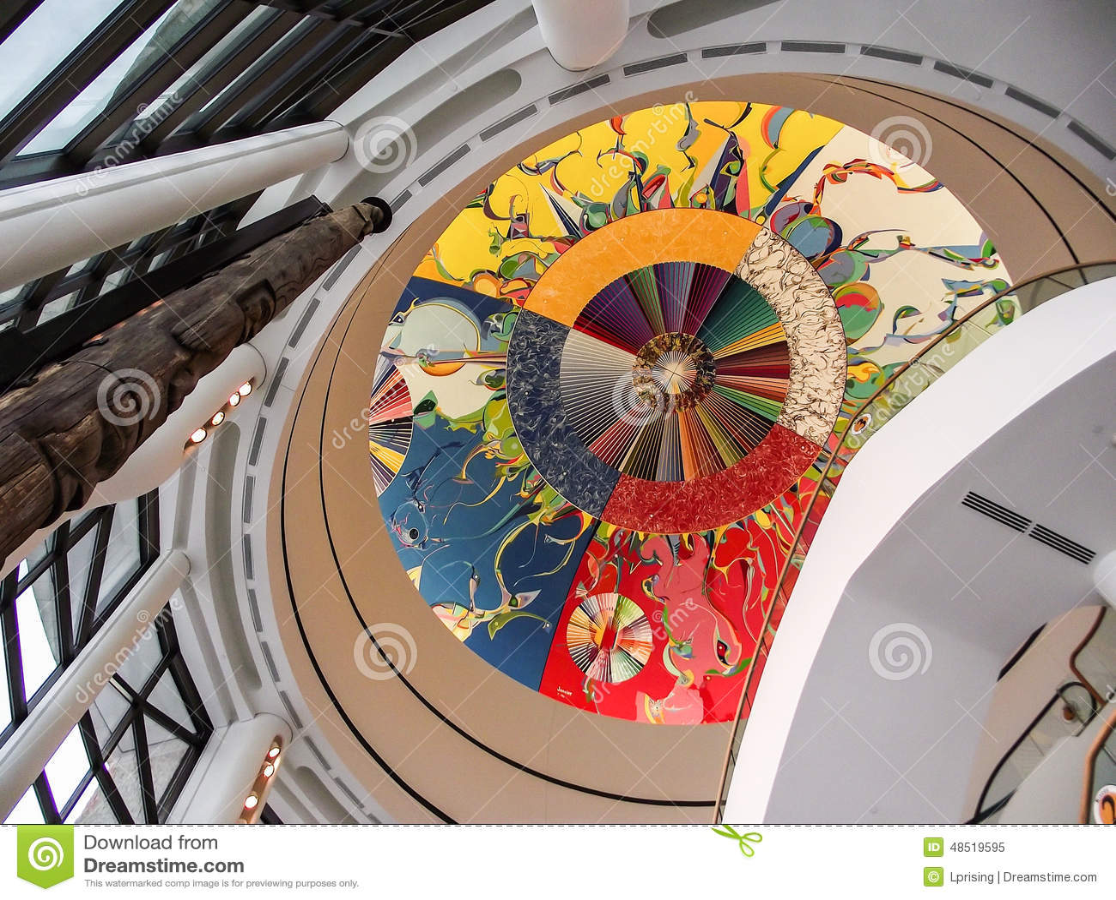 Ceiling Art Stock Photo Image 48519595