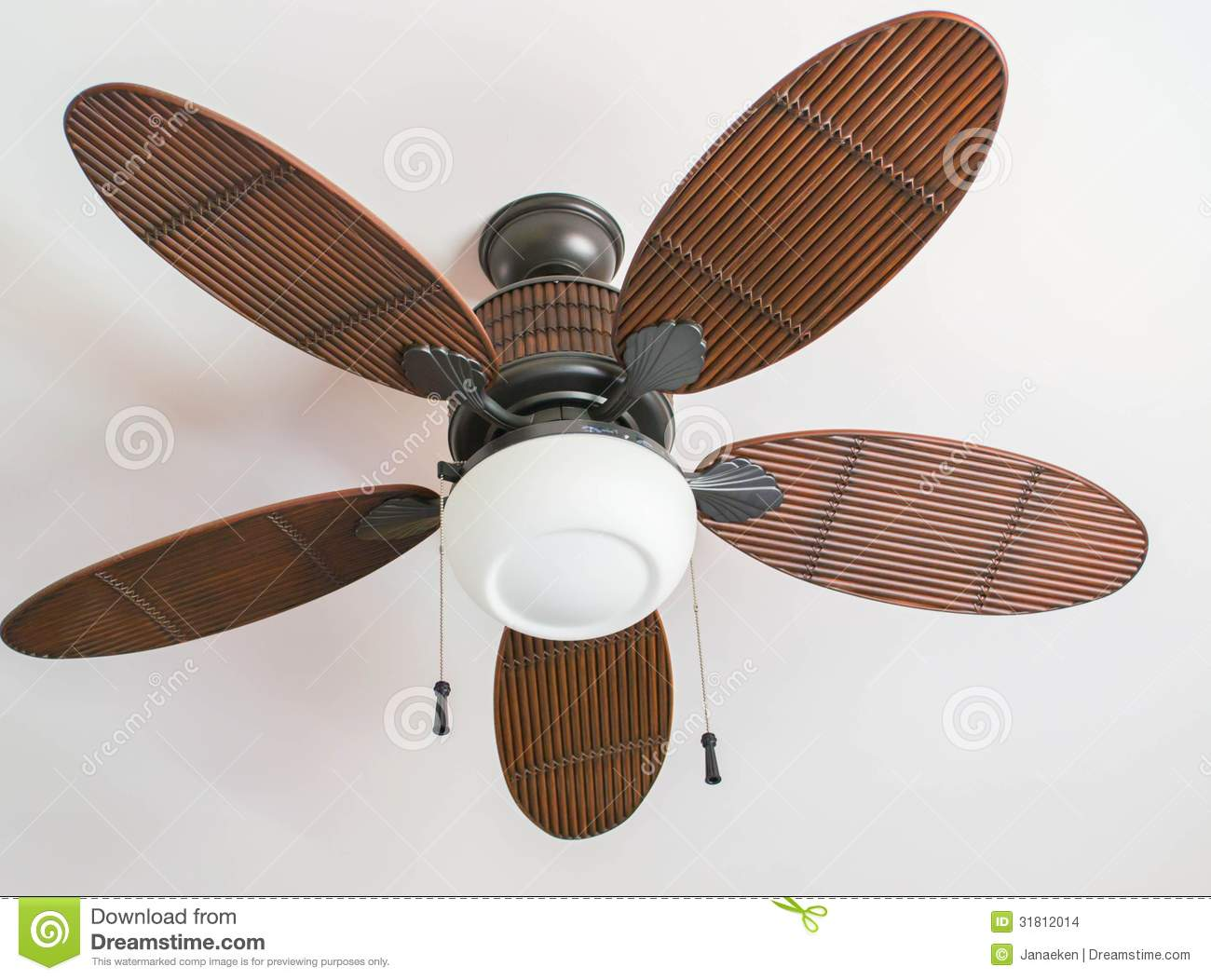 Ceiling Fan Stock Images - Image: 31812014