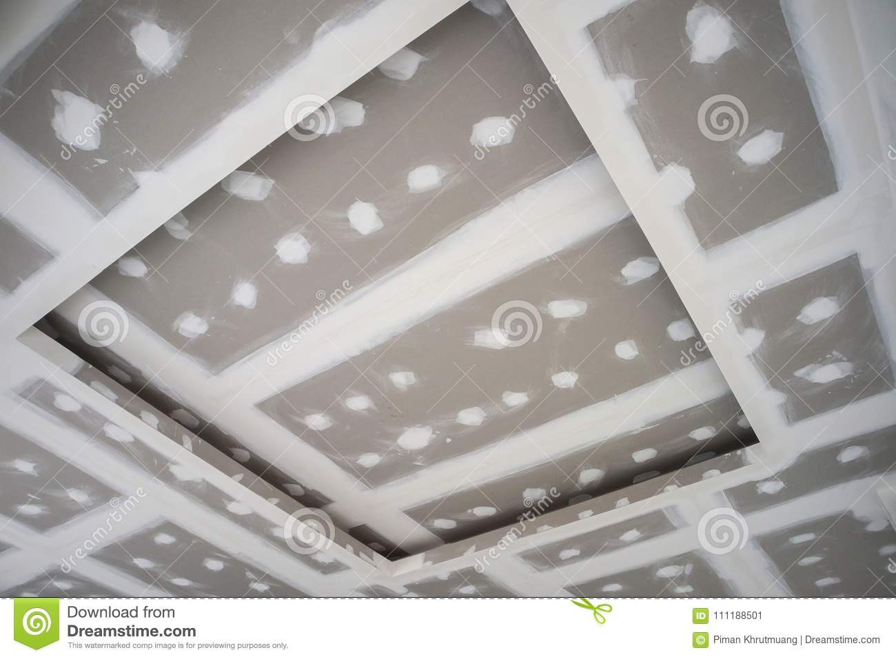 Installation of plasterboard ceiling. Installation technology. Apartment repair 50