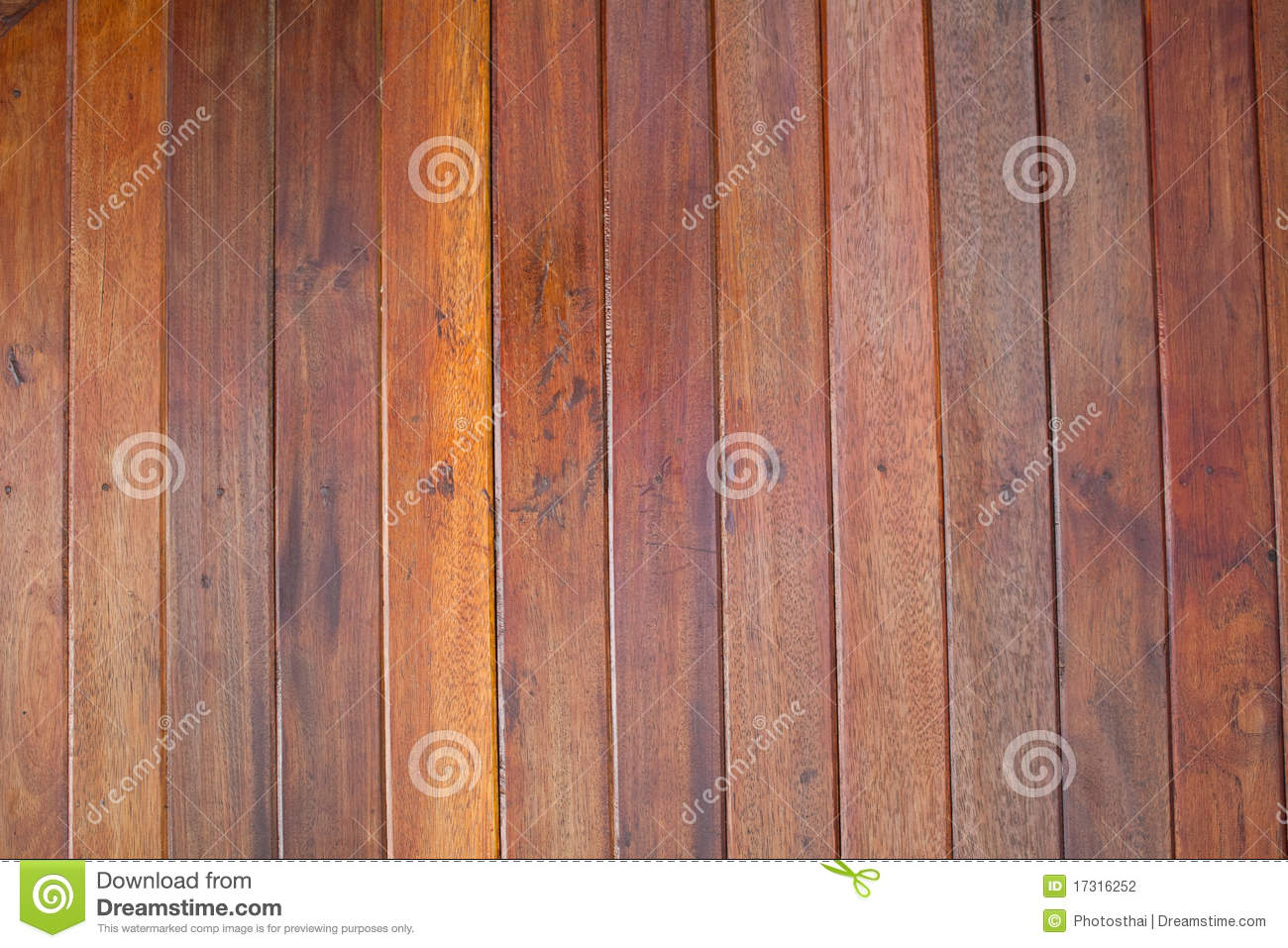 Ceiling Is Made From Wood Plank Stock Photo Image 17316252