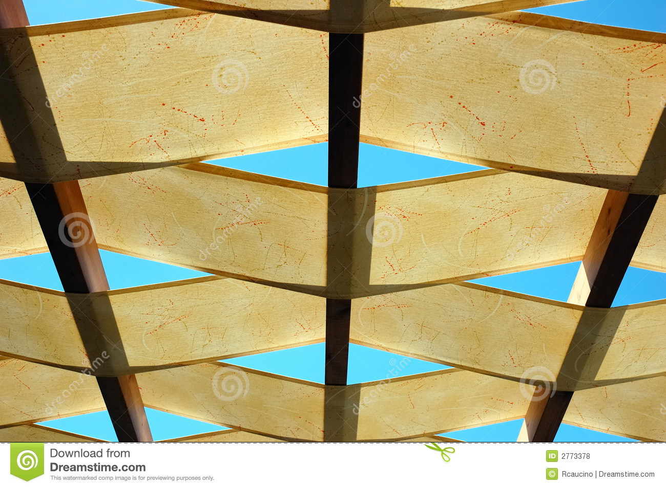 Ceiling Of Outdoor Bar Royalty Free Stock Photos - Image: 2773378