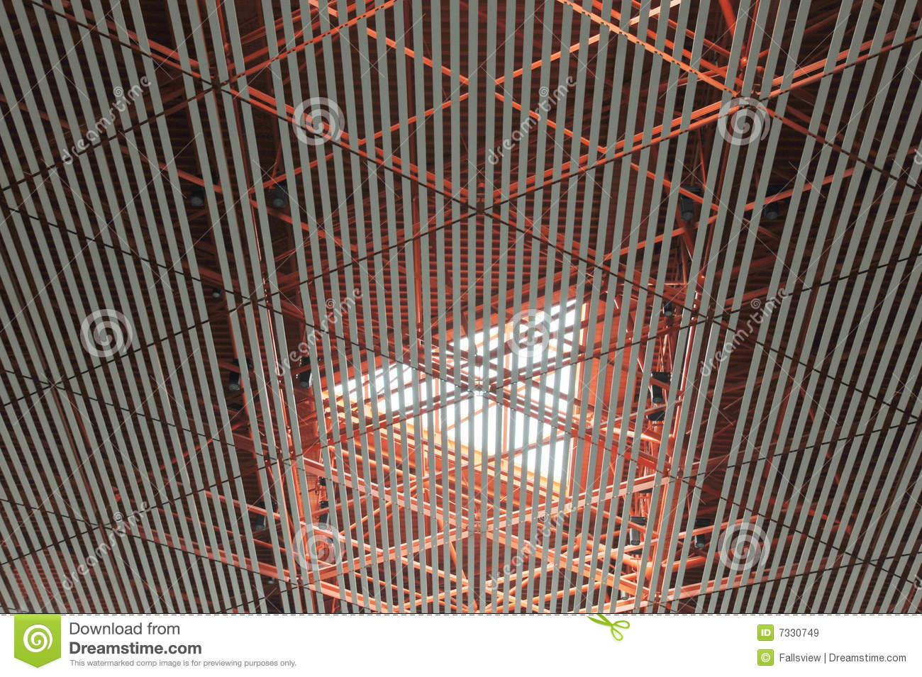 Ceiling Structure Royalty Free Stock Images - Image: 7330749