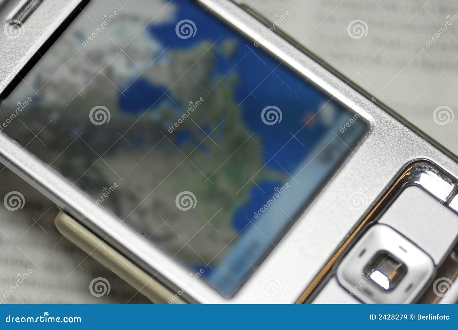 Cela nawigatora telefon