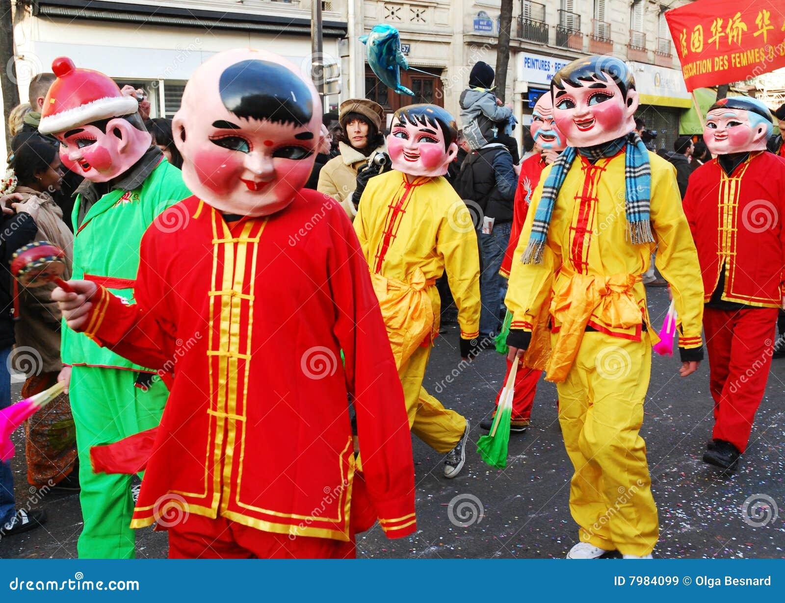 Celebração chinesa 2009 do ano novo
