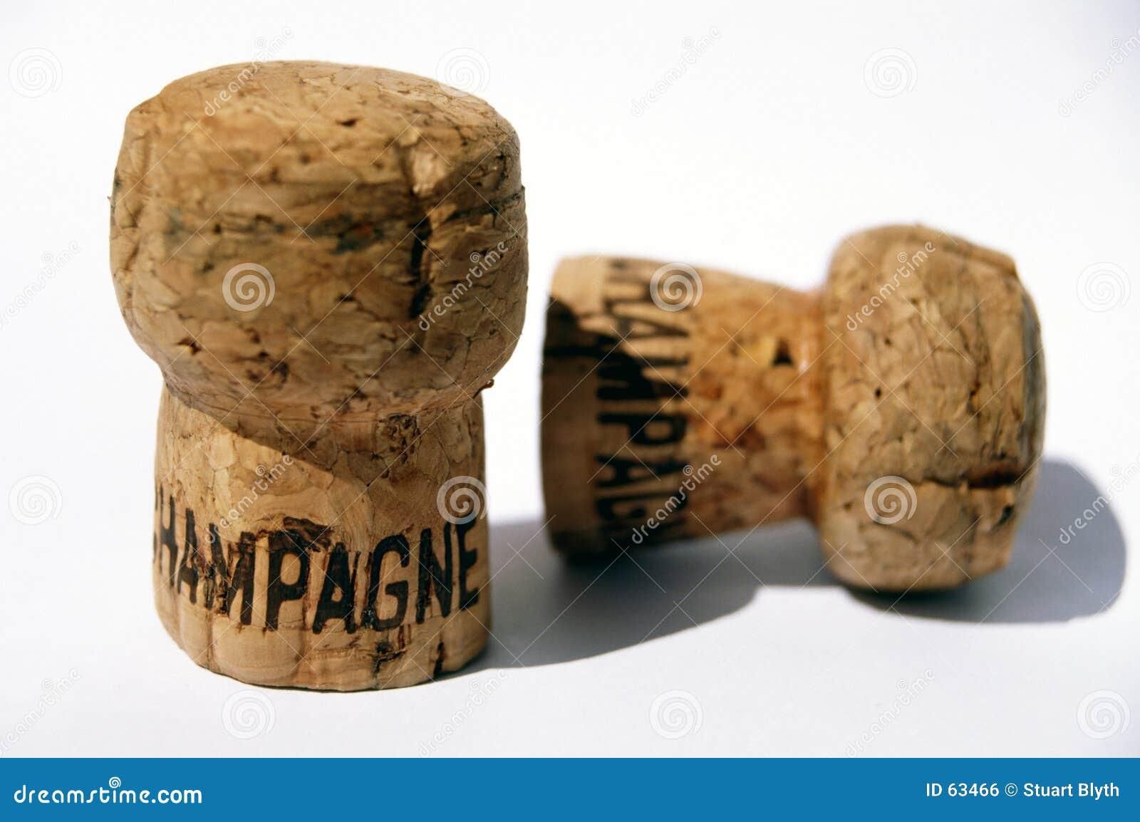 Celebração de Champagne
