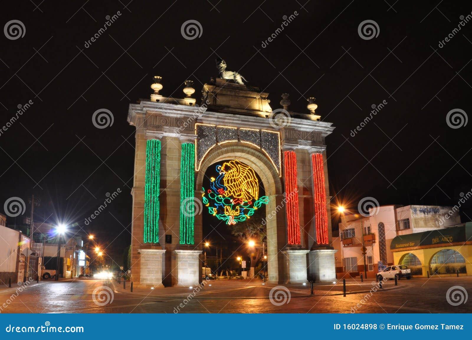 Celebração mexicana da independência