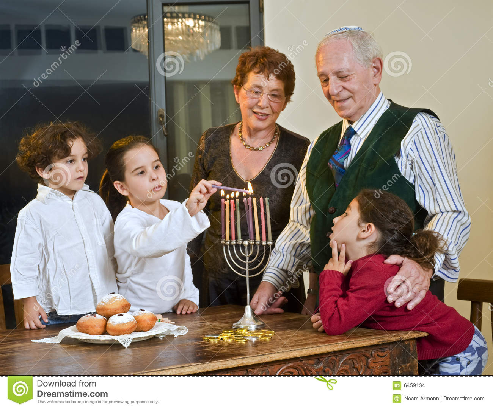 Celebración de Hanukkah