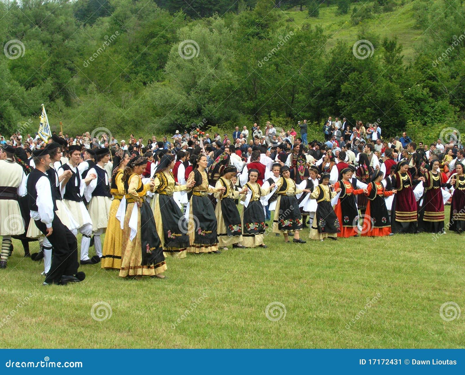 Celebración de Vlach en Grecia