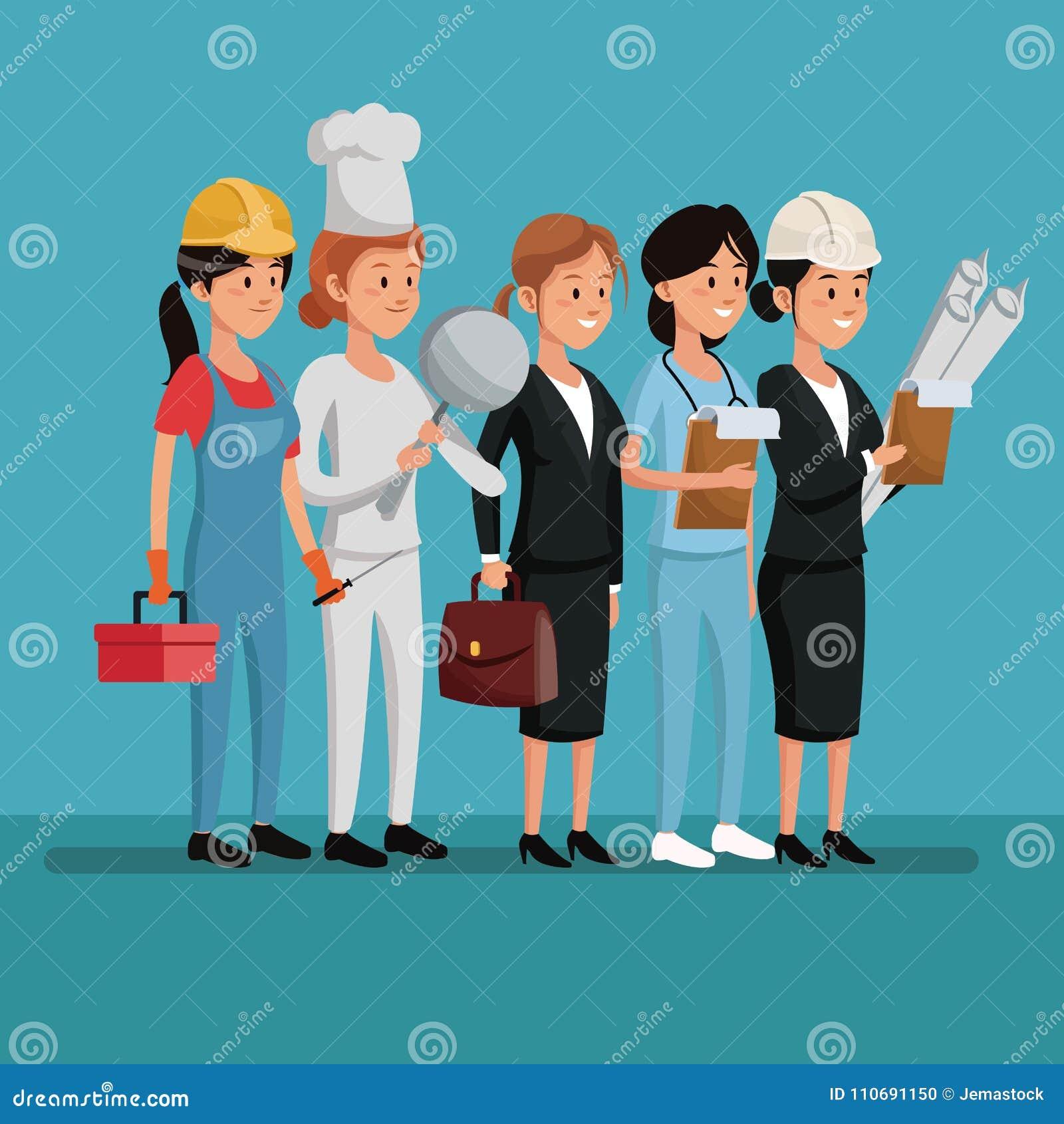 Dia Del Trabajador Mujeres celebración del día del trabajo de las mujeres del carácter