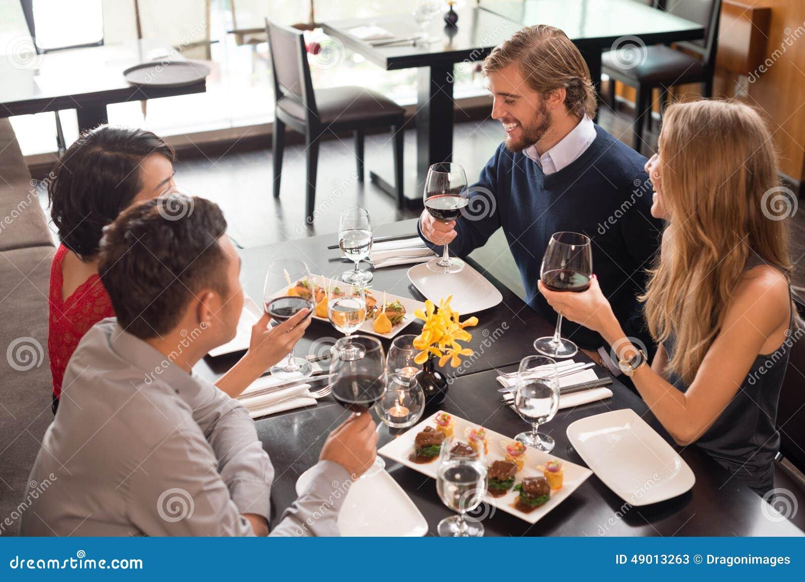 Celebración en el restaurante
