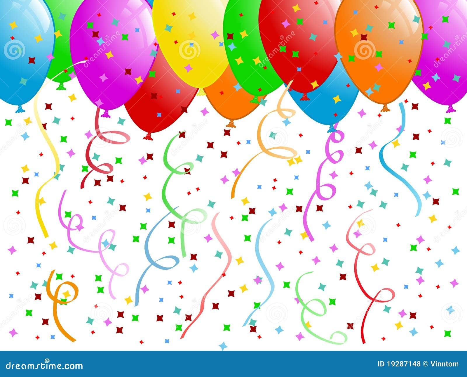Celebración - globos stock de ilustración. Ilustración de azul ... 93bab890b2d