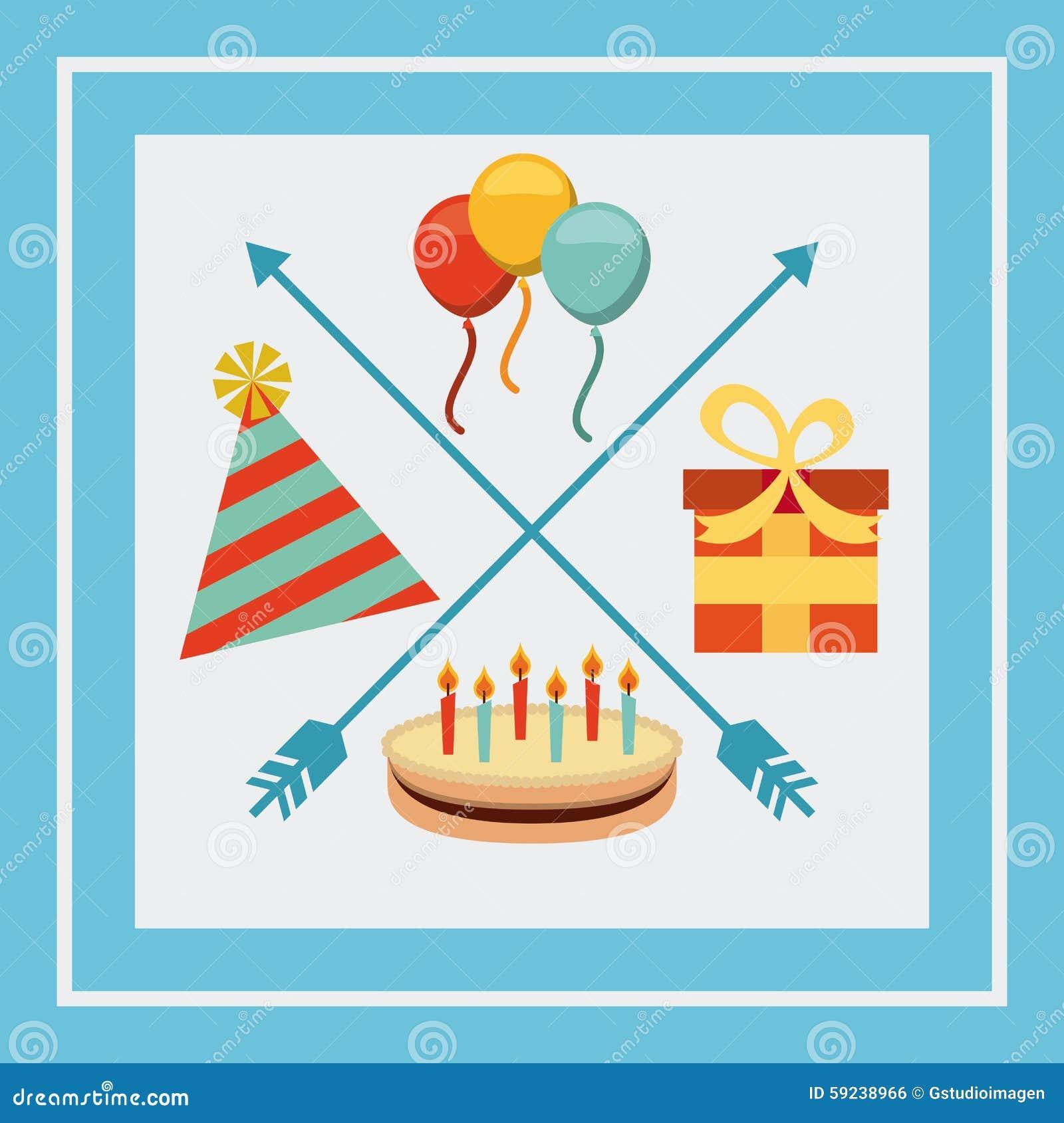 Download Celebración Retra Del Partido Ilustración del Vector - Ilustración de best, partido: 59238966