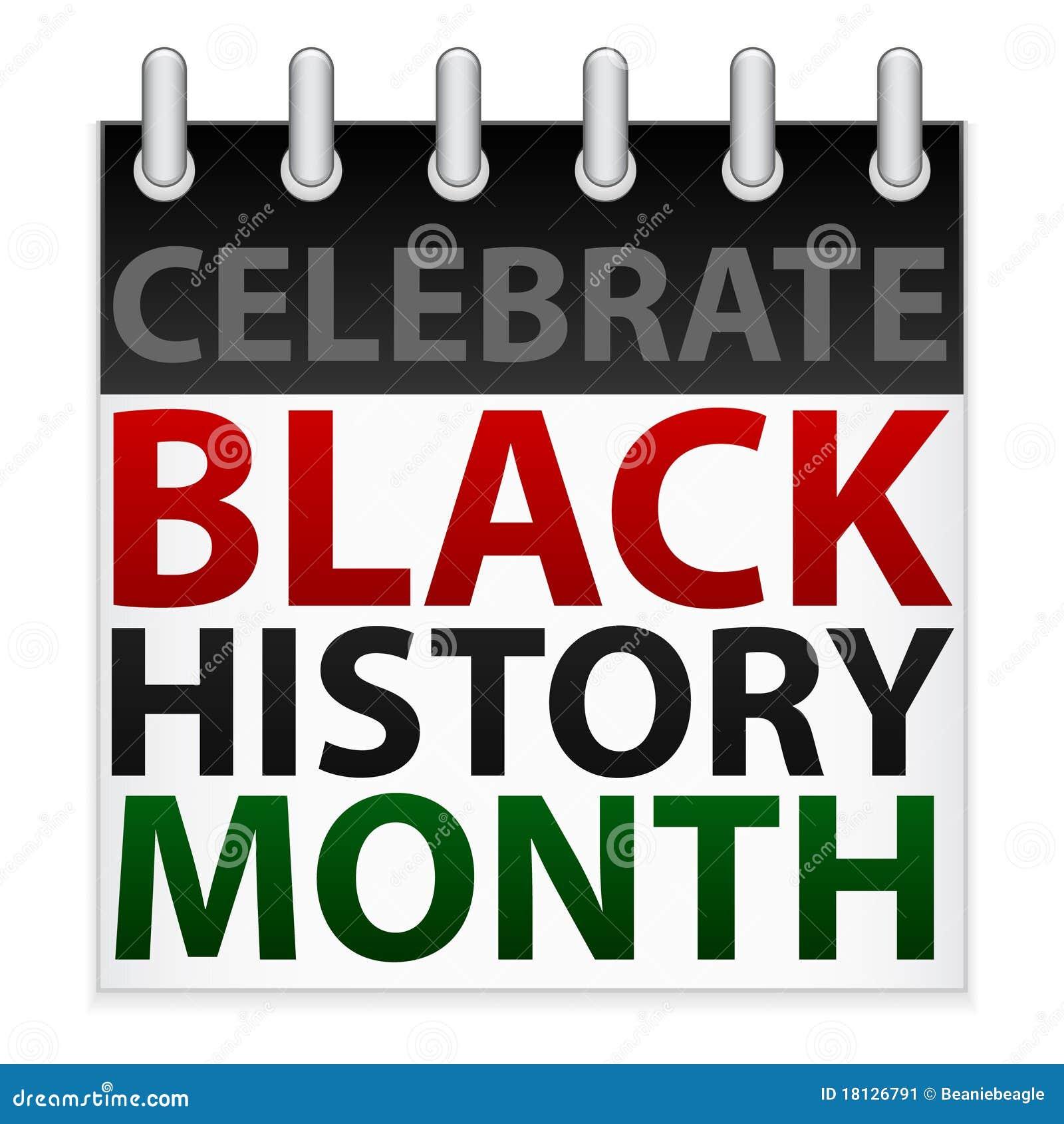 celebrate black history month icon stock vector illustration of rh dreamstime com black history month clipart black history program clipart