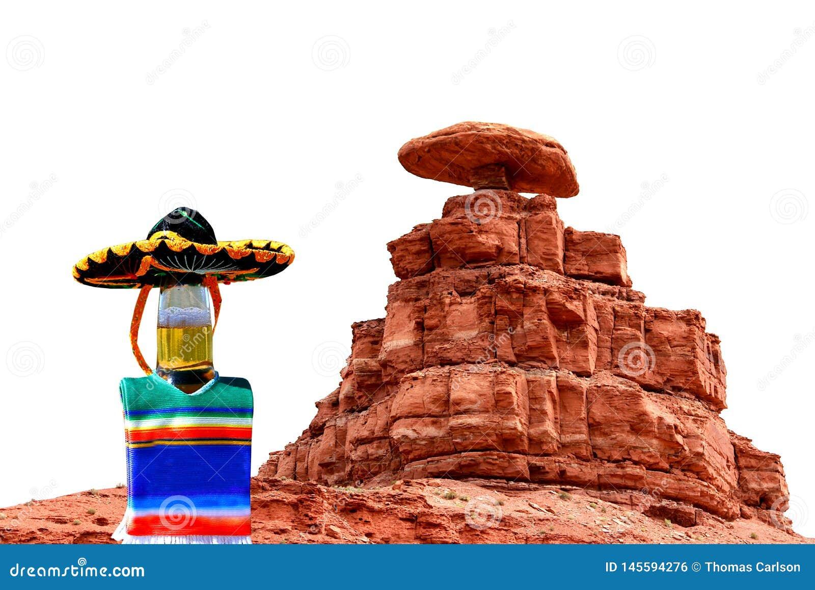 Cinco de Mayo sombrero at Mexican Hat, Utah.