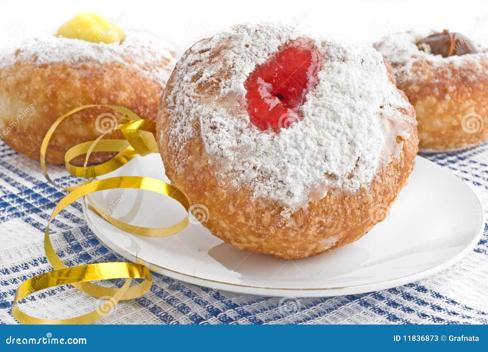 Celebrate Donut For Hanukkah Stock Photos - Image: 11836873