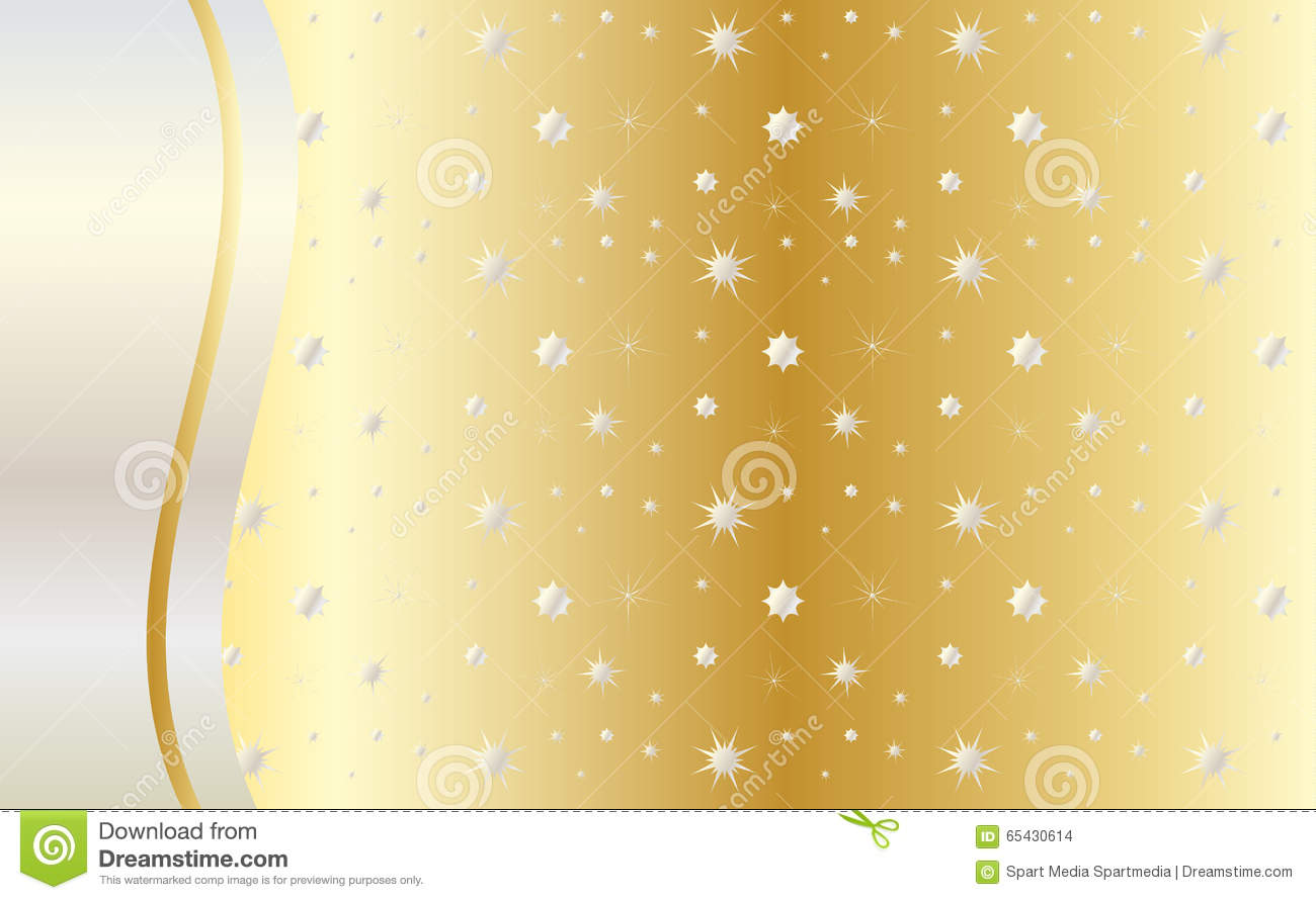 celebrate gold background vector stock vector
