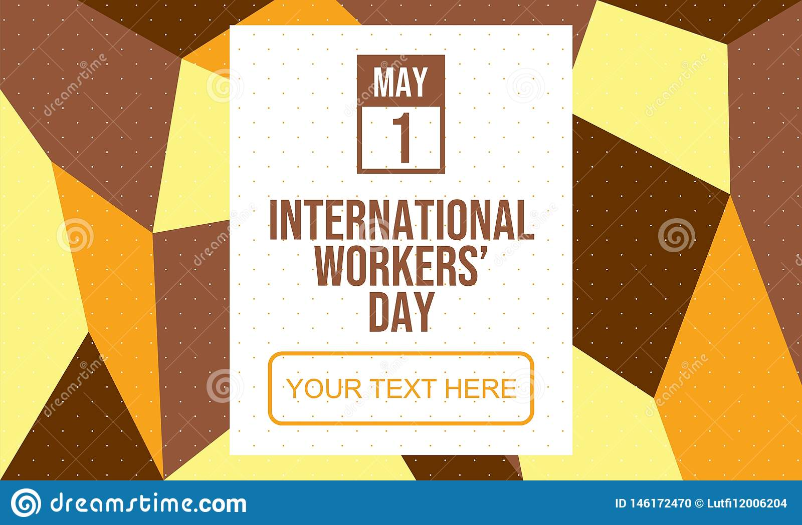 Celebrate International Workers` Day - Vector