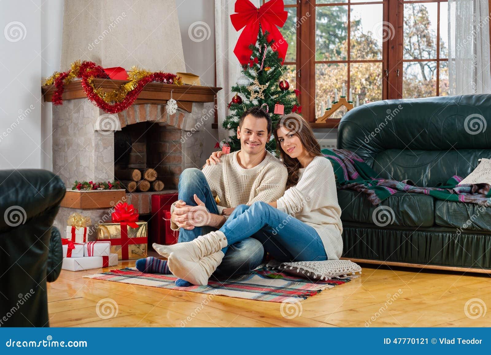 Celebrating Christmas Together Stock Photo Image 47770121