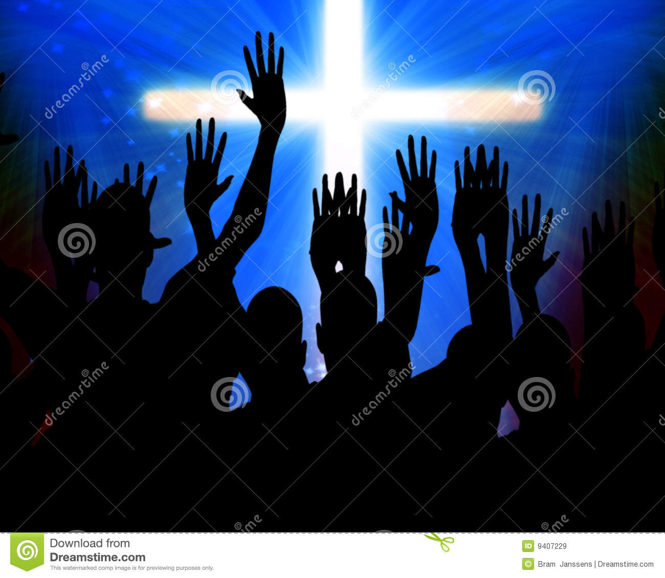 Celebrating Jesus Royalty Free Stock Images Image 9407229