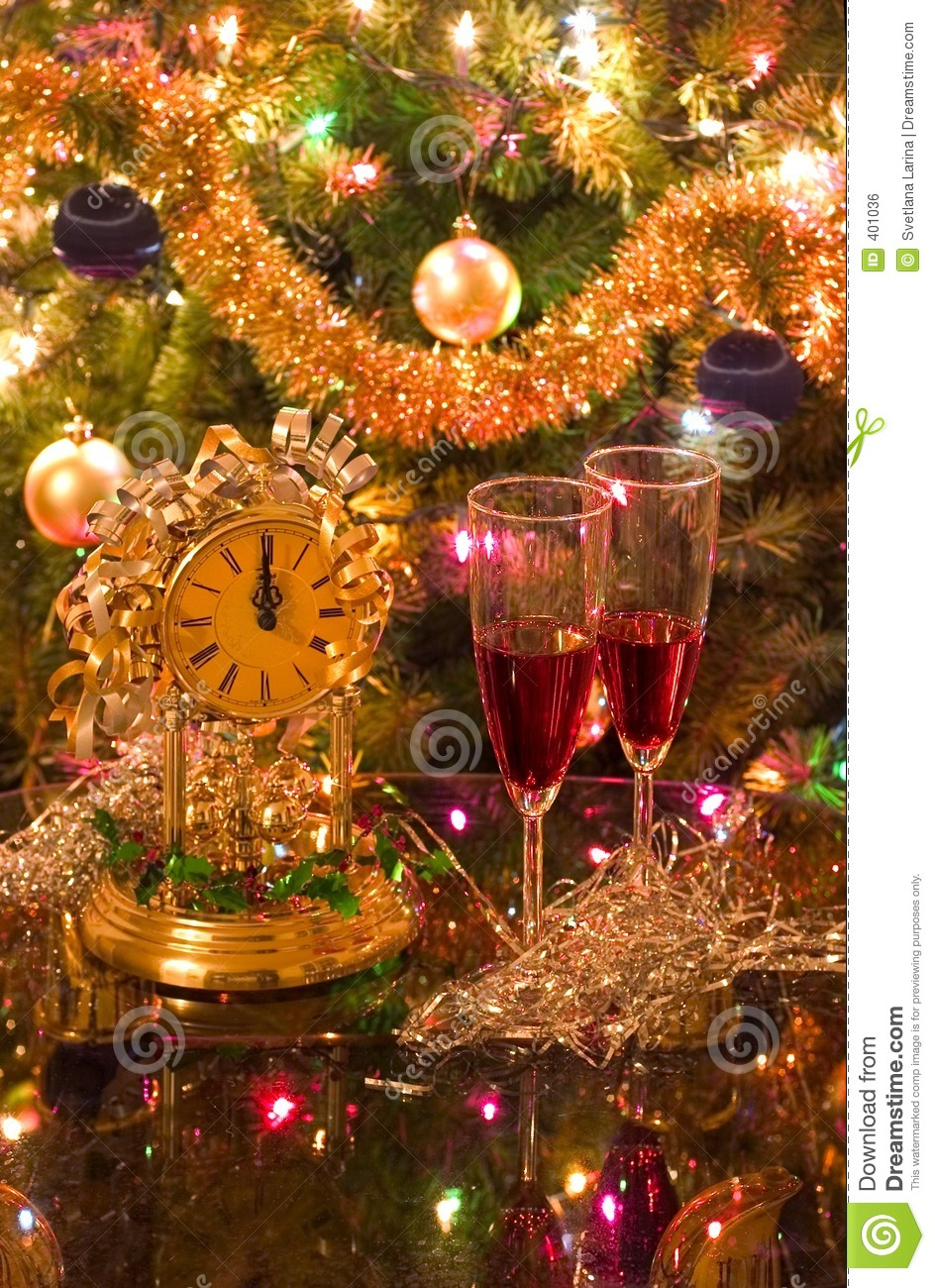 Celebrating new year (christmas)