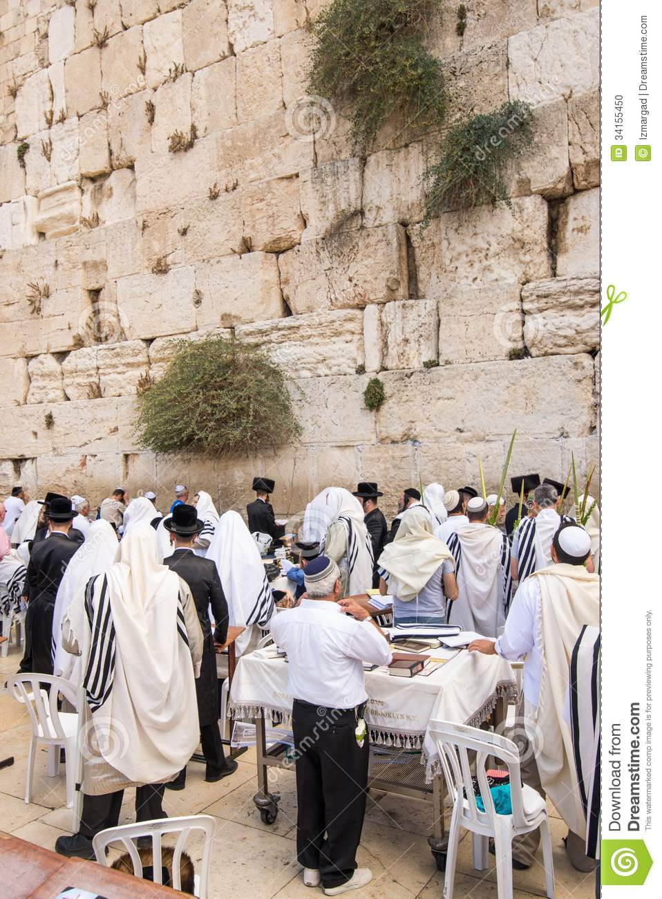 ... Wailing Wall in order to celebrate the Feast of Tabernacles (sukkot