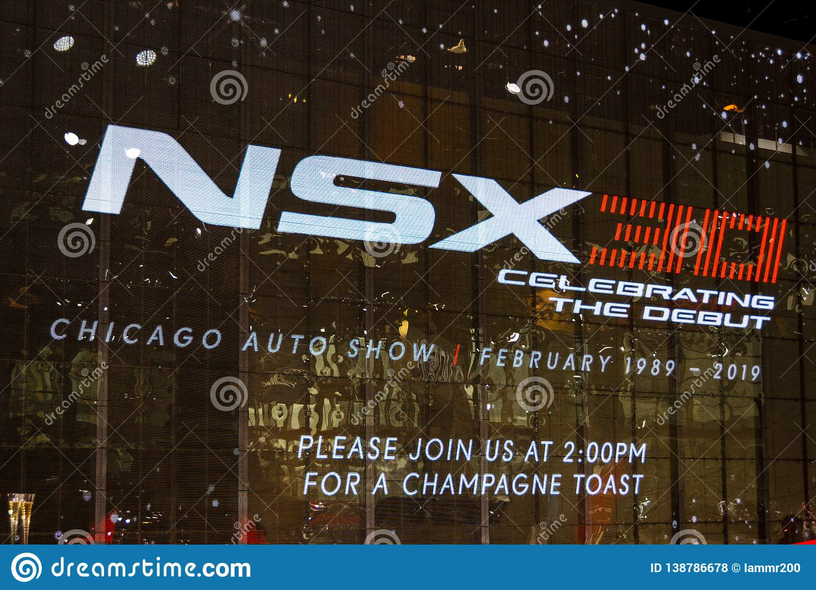 Celebrating 30 years of NSX backdrop