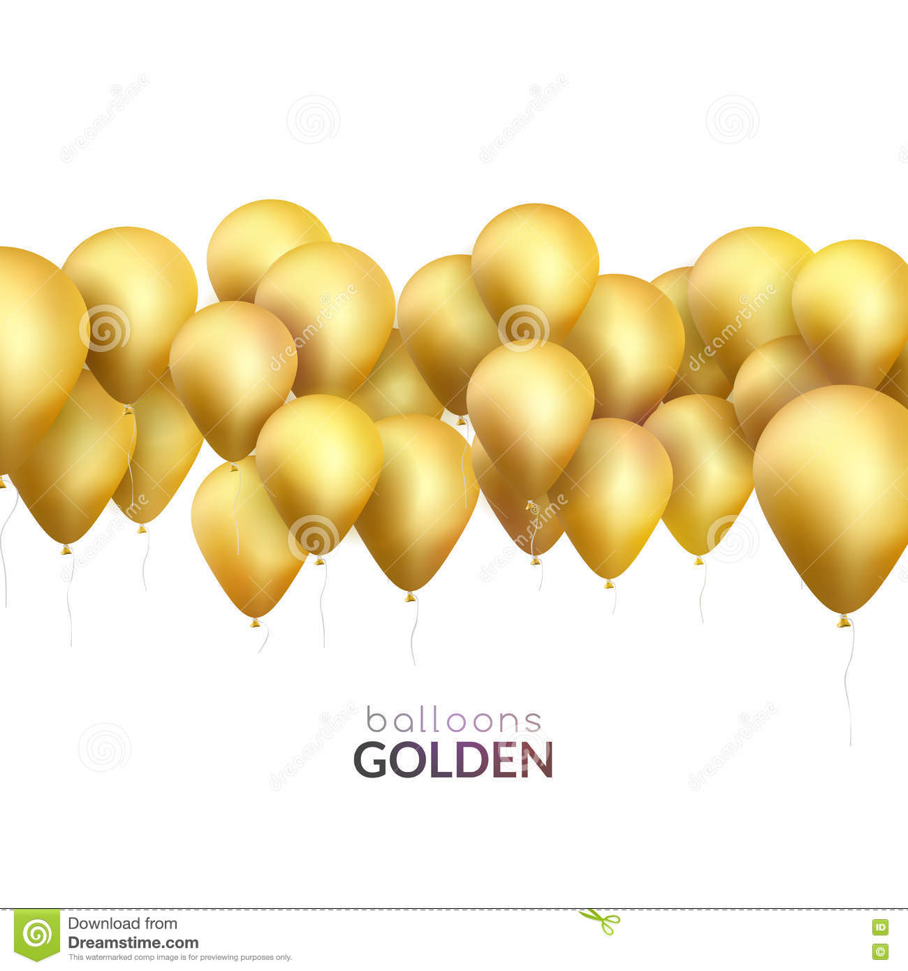 gold party vector - photo #12