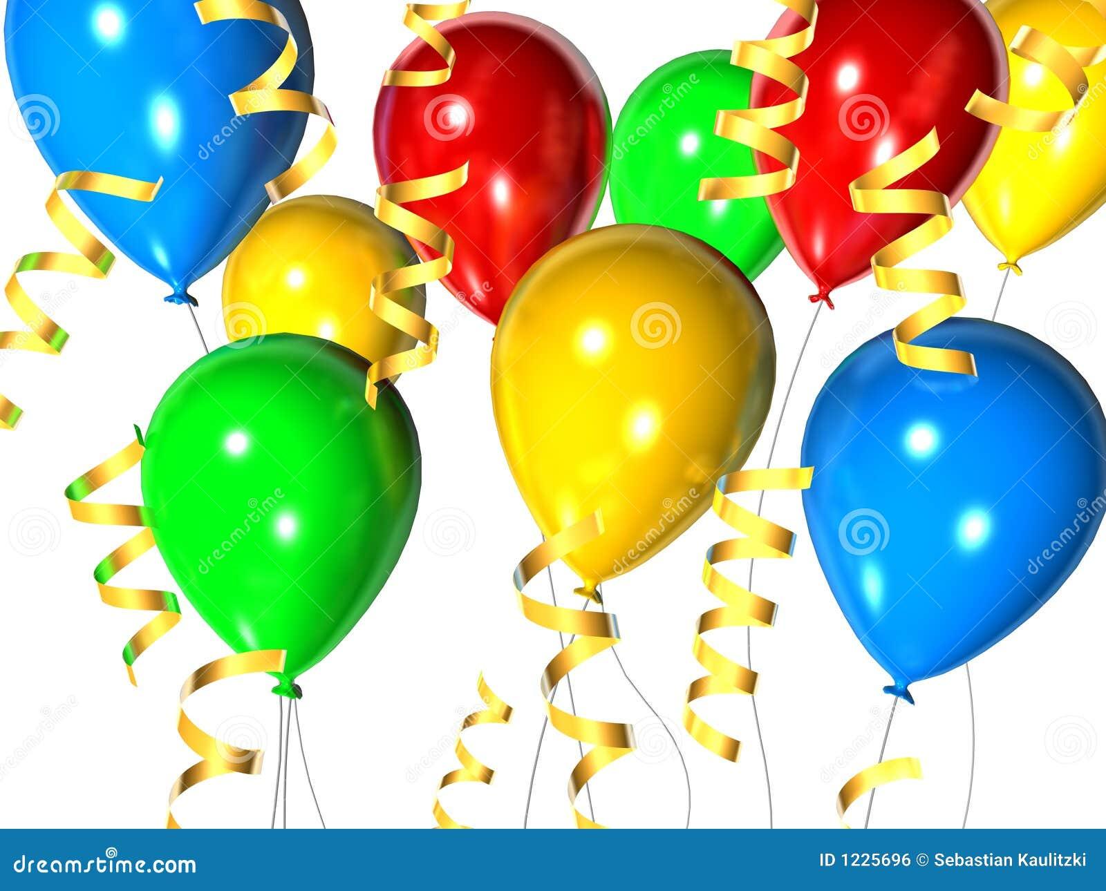 Celebration Balloons Royalty Free Stock Image - Image: 1225696