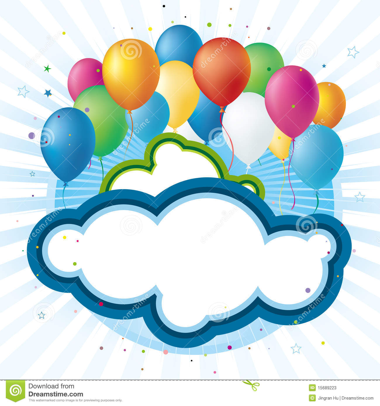 Celebration Balloons Stock Photos - Image: 15689223