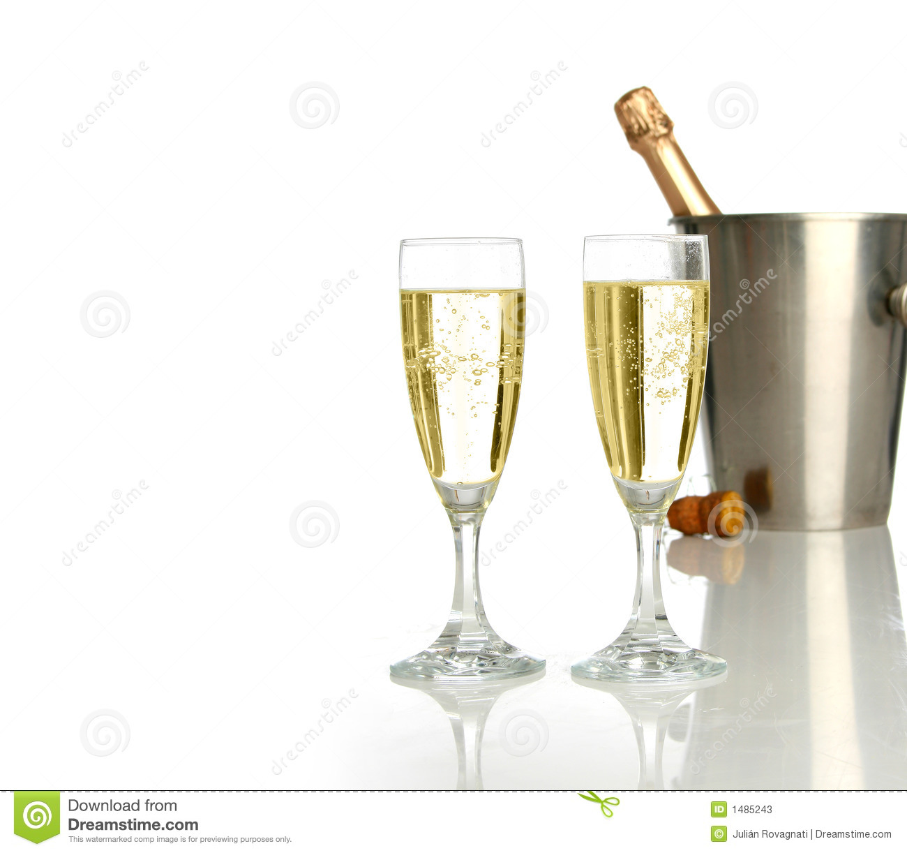 Celebration With Champagne Stock Photos Image 1485243