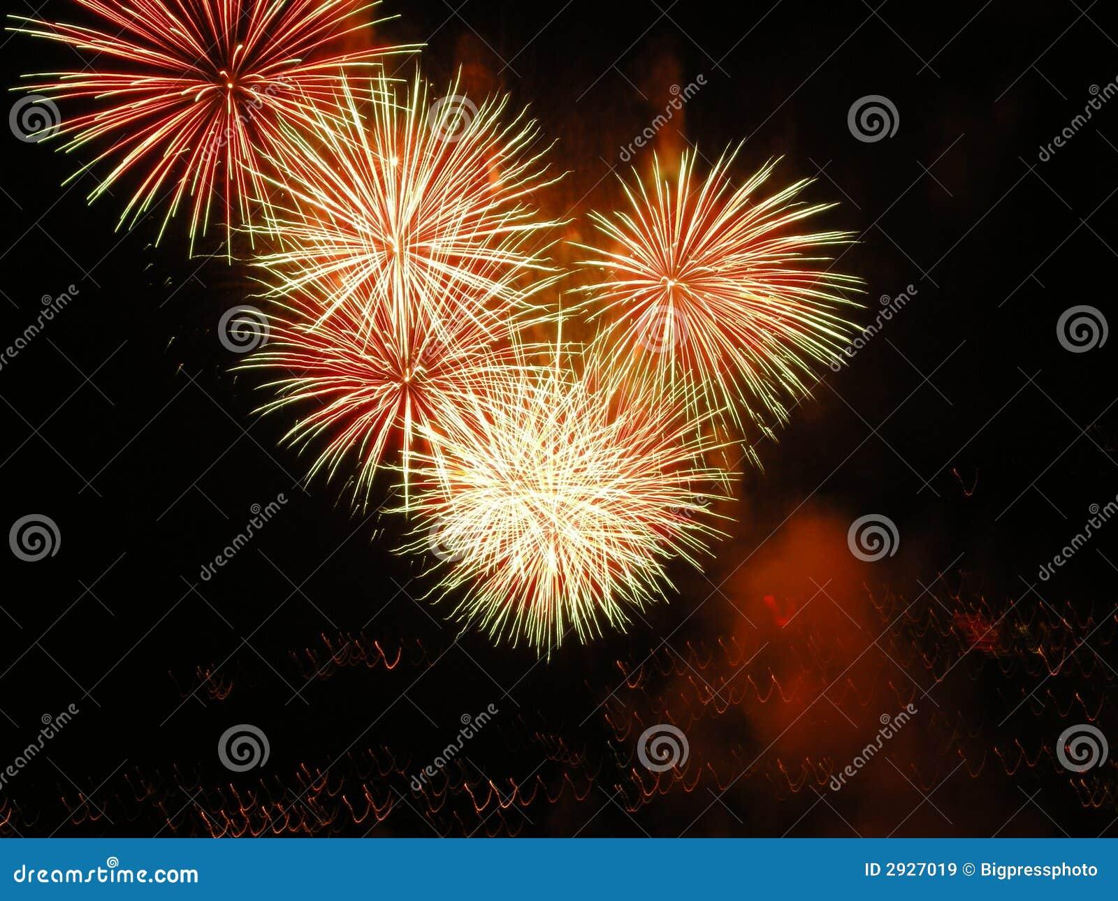 celebration explosion