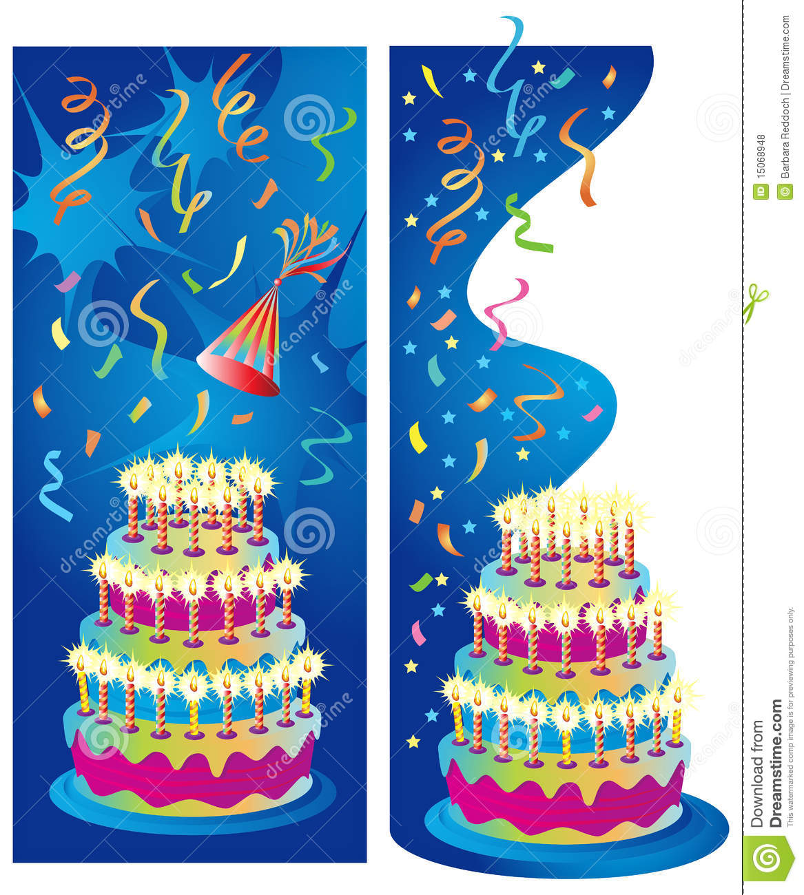 Celebration Party Banners Royalty Free Stock Photos - Image: 15068948