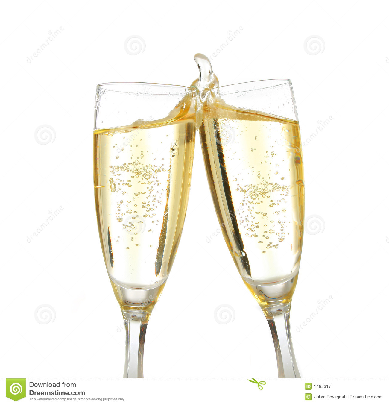 Celebration Toast With Champagne Royalty Free Stock