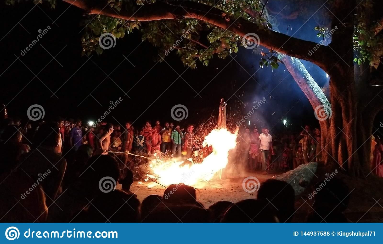 Celebrations With Fire, Religion Program, From India,West