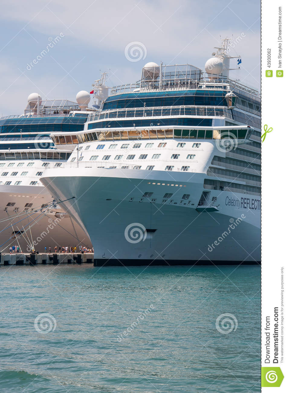 Celebrity Cruises, Miami, USA Editorial Photography