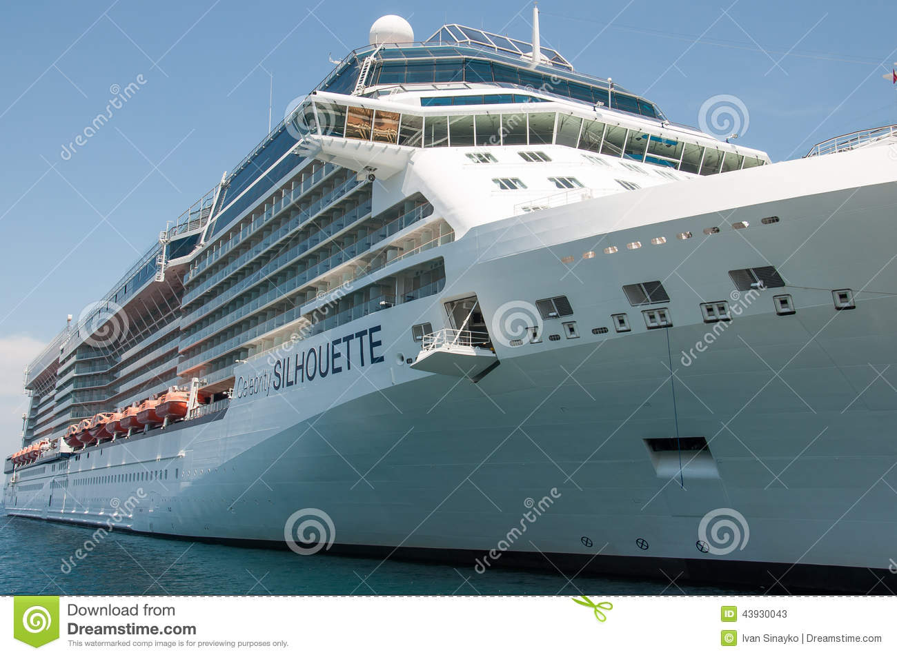 Celebrity Silhouette Editorial Stock Photo Image Of Celebrity 43930043