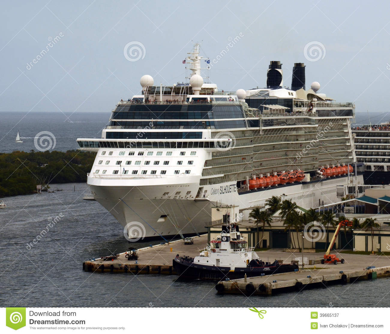 celebrity silhouette cruise ship editorial photography image 39665137