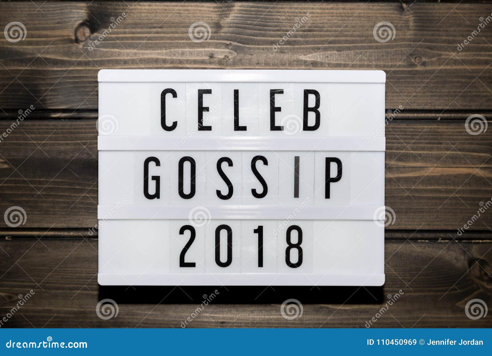 Celebskvallermeddelande 2018 i ljus ask