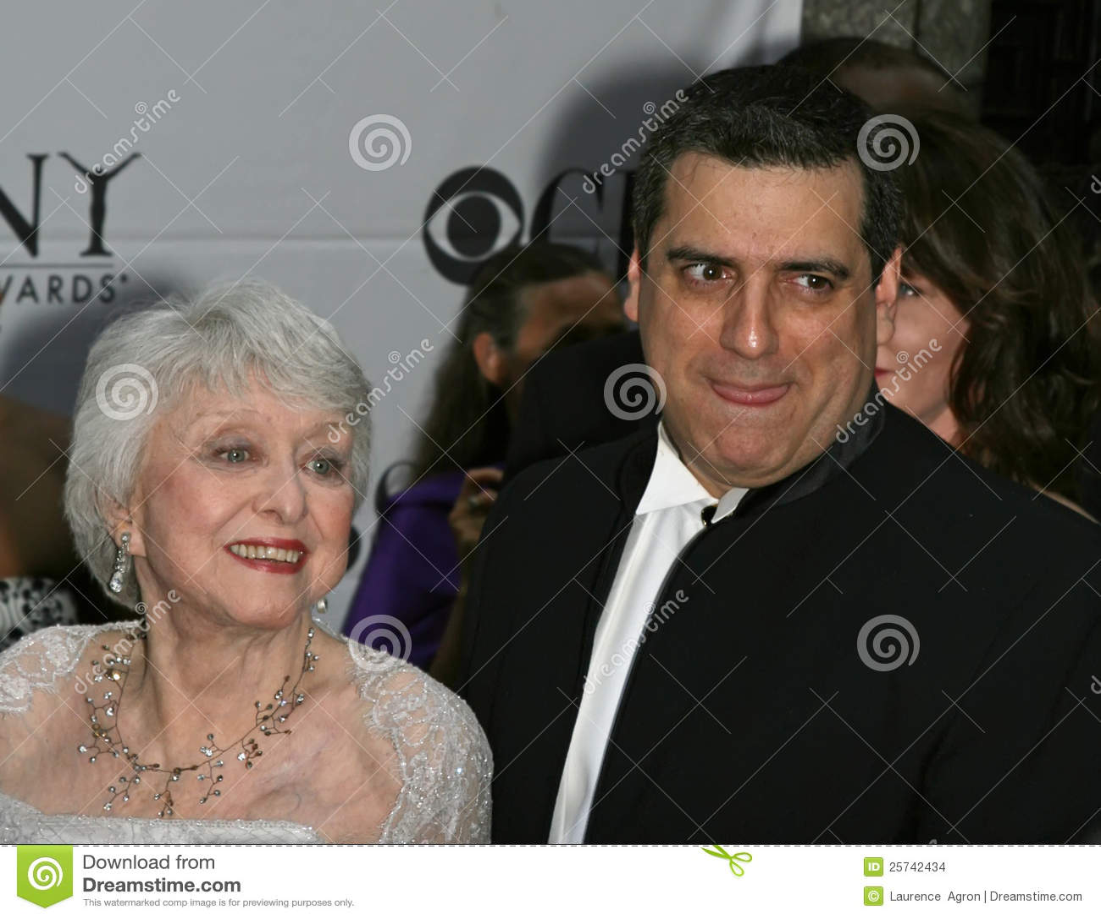 Celeste Holm and Frank Basile