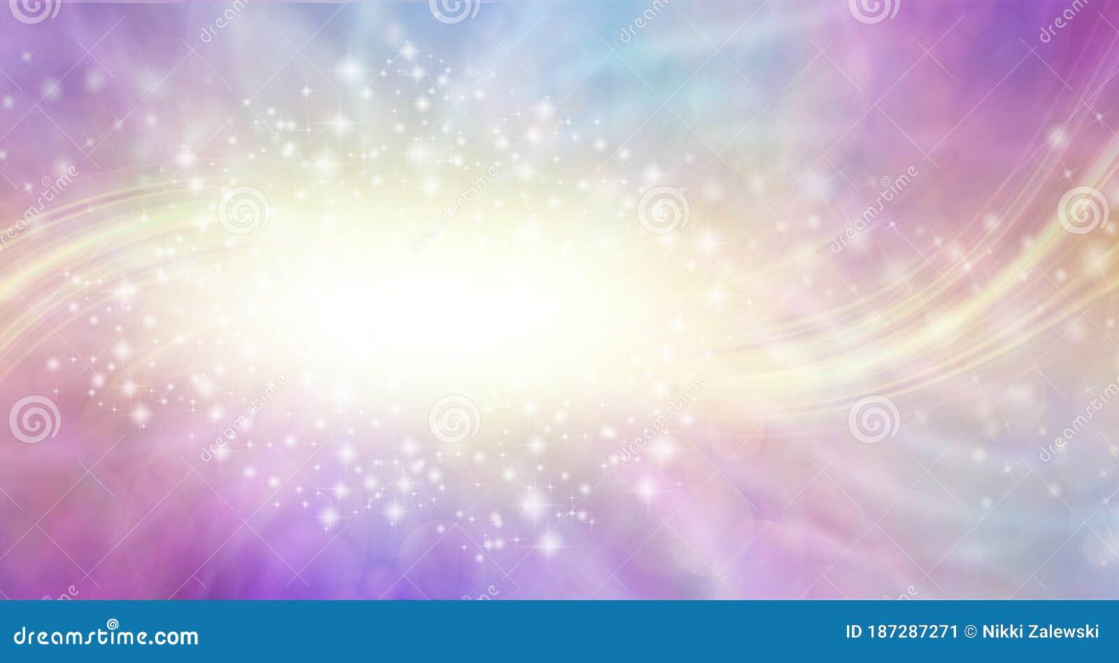 Celestial Light Energy Form Background Stock Illustration ...