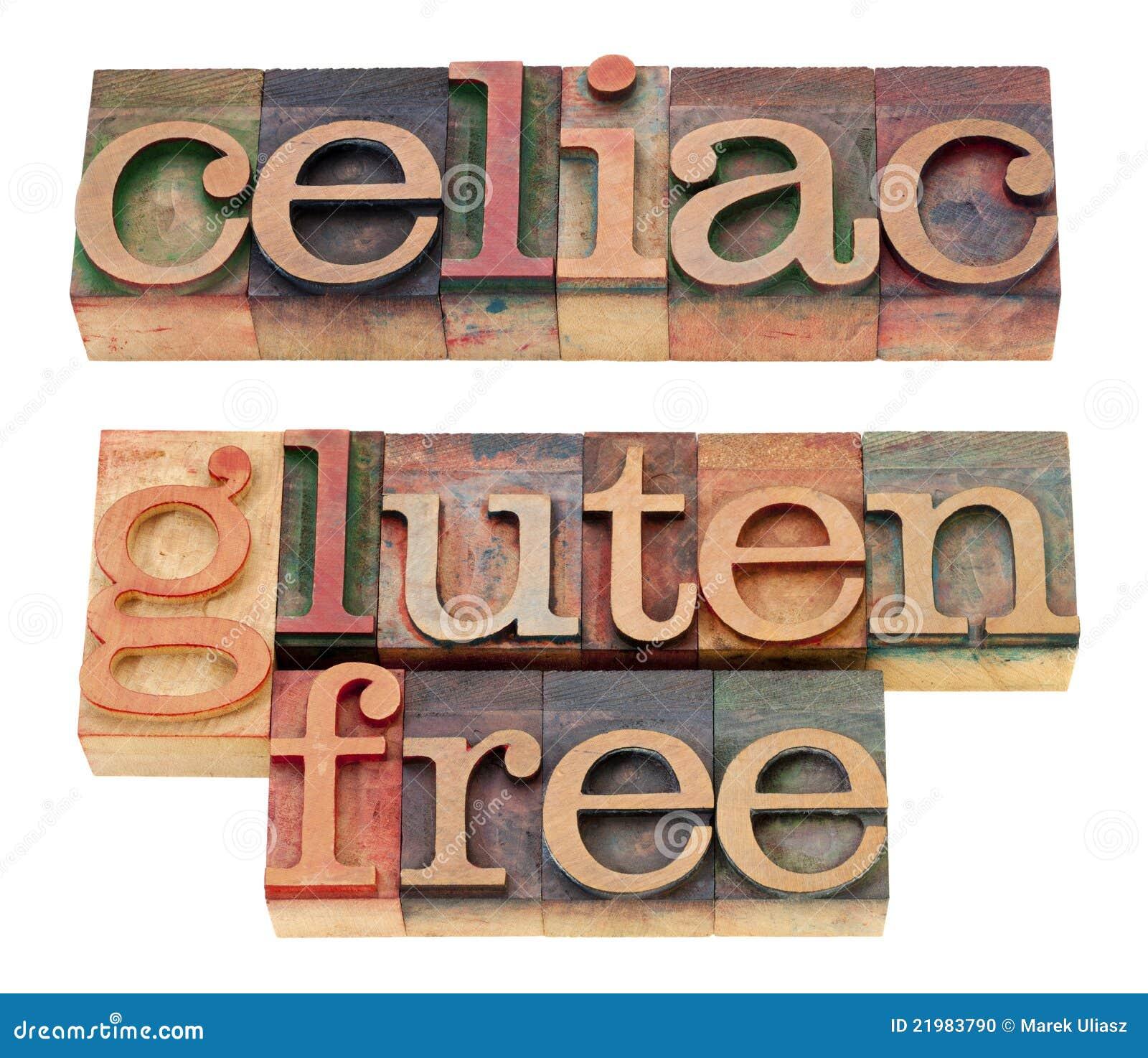 Celiaco y gluten libere