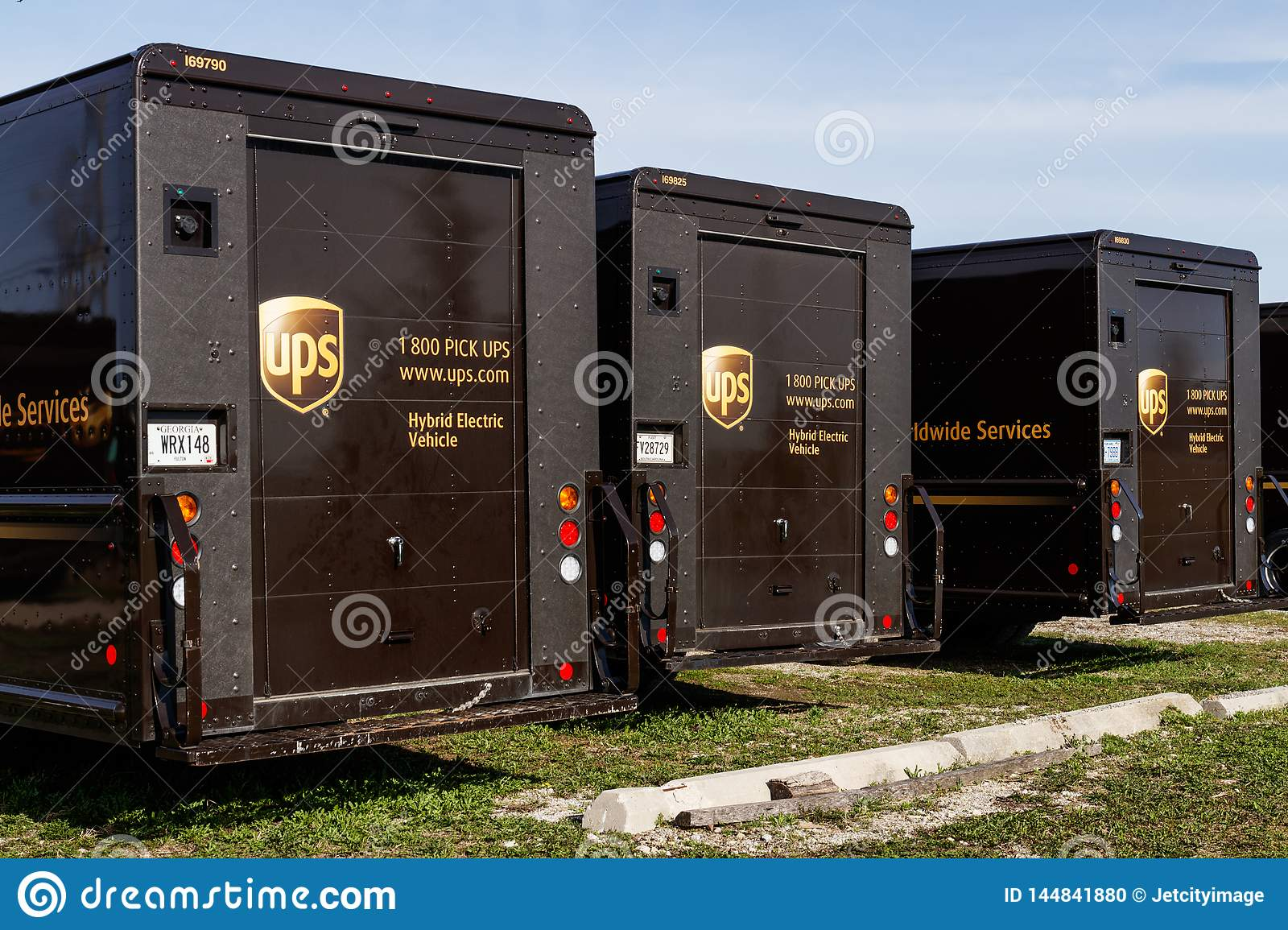 United Parcel Service hybrid electric vehicles. UPS is the World`s Largest Package Delivery Company II