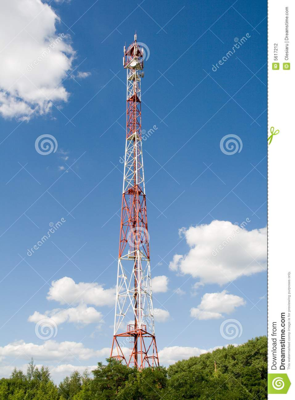 Cell-communications tower
