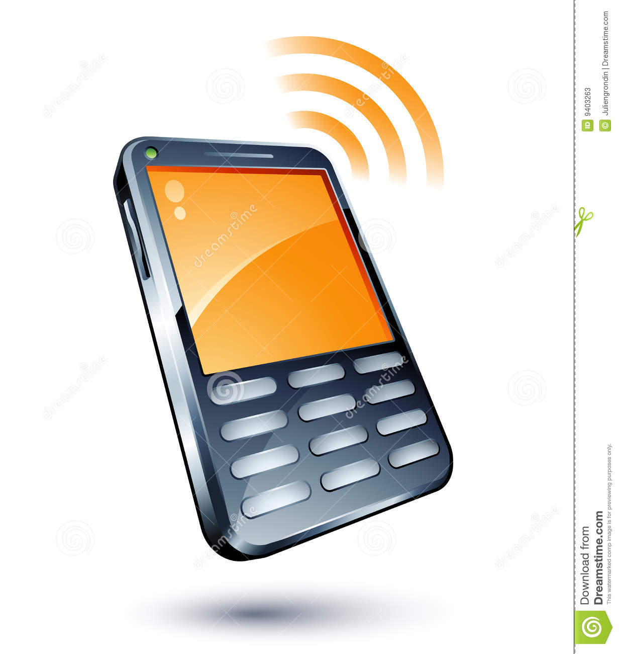 cell phone stock vector illustration of network futuristic 9403263 rh dreamstime com cell phone clip art pictures cell phone clip art pictures