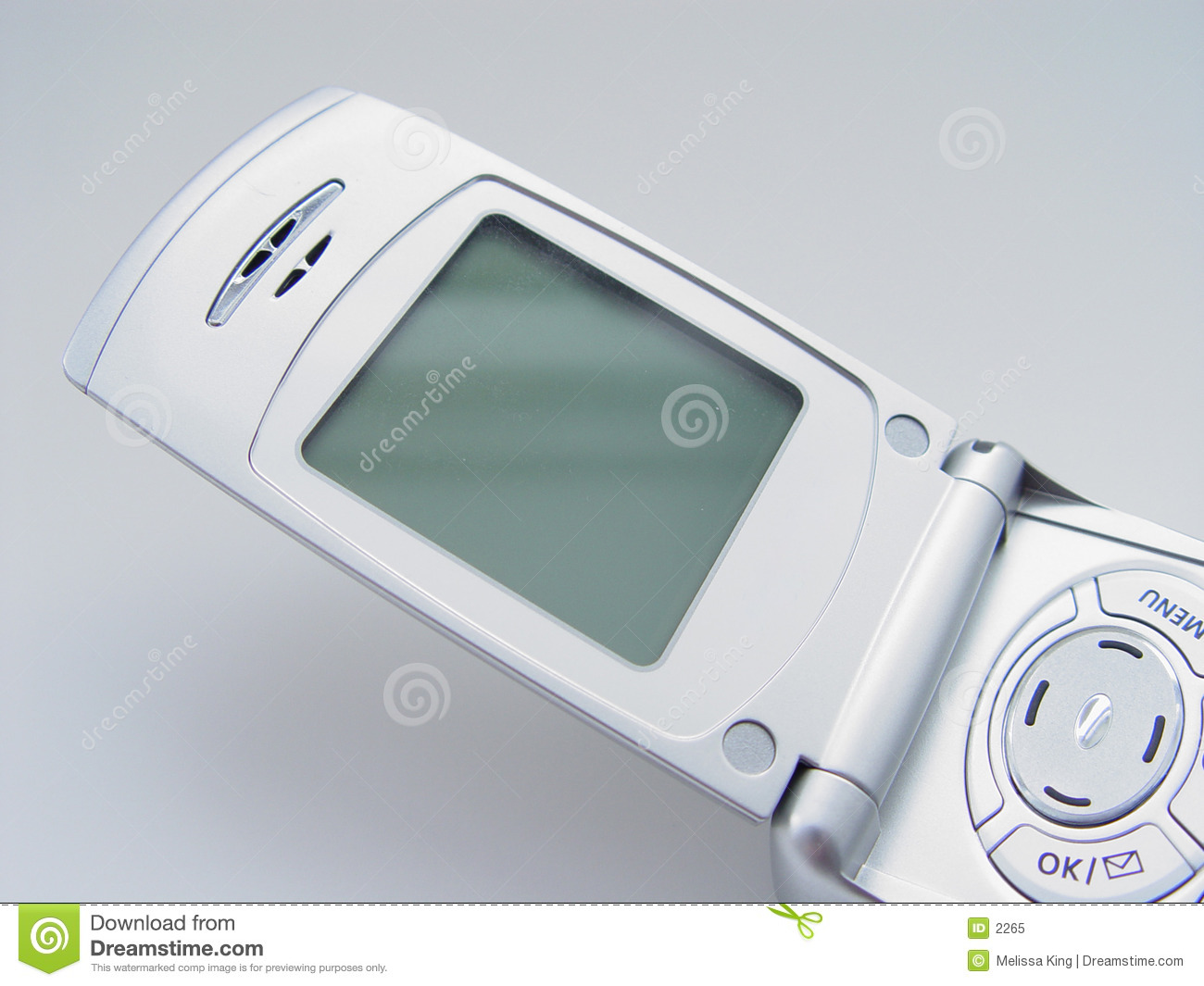 Cell Phone with Blank Screen